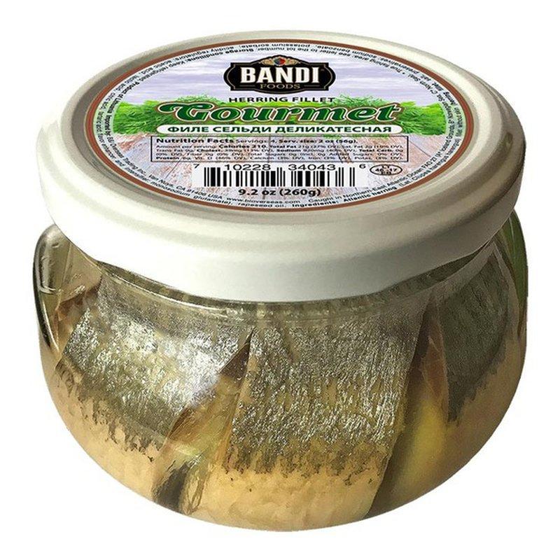 Bandi Foods Herring Fillet in Oil