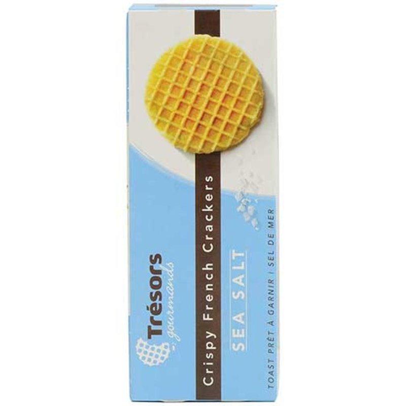 Tresors Gourmands Sea Salt Waffle Crackers