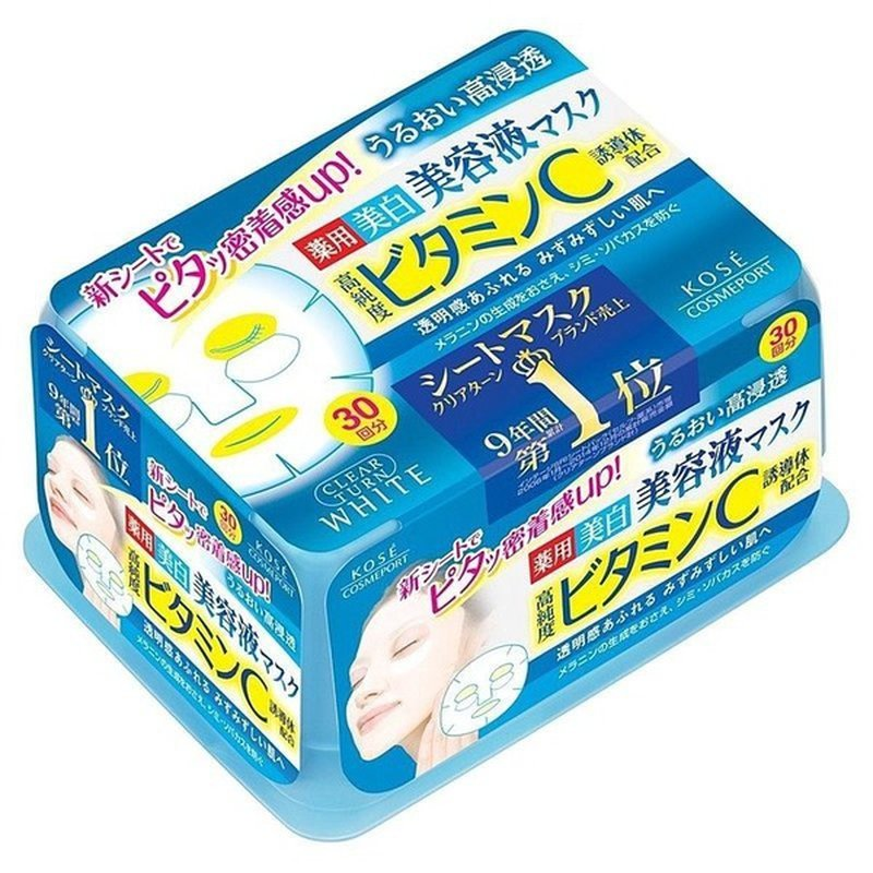Kose Clear Turn Essence Vitamin C Facial Mask