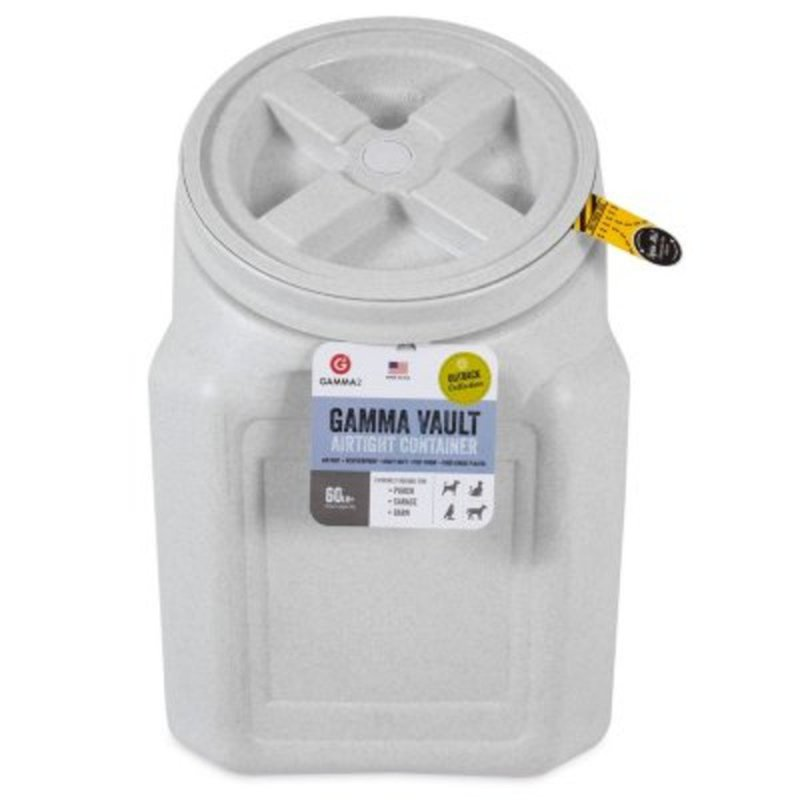 Gamma 60 Pound Stackable Vault Airtight