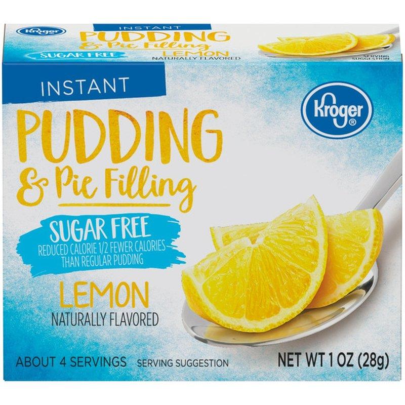 Kroger Pudding & Pie Filling