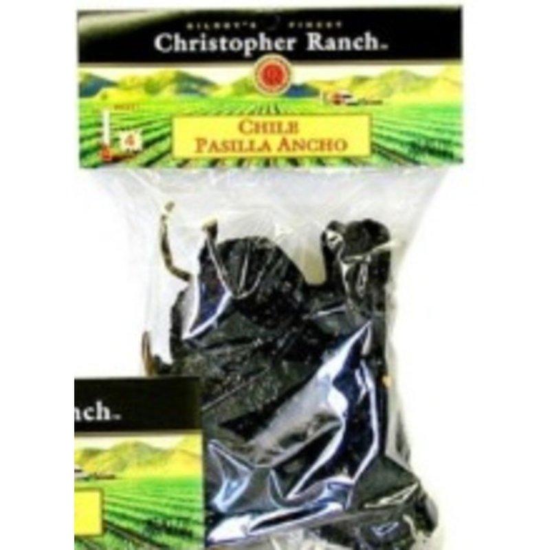 Christopher Ranch Ancho Pasilla Chile