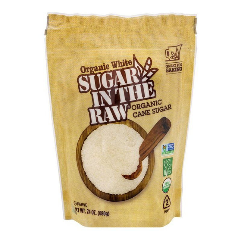 Sugar In The Raw Cane Sugar, Organic, White
