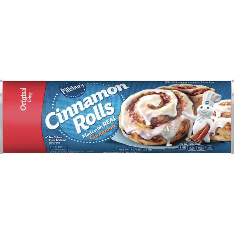 Pillsbury Cinnamon Rolls, Original Icing