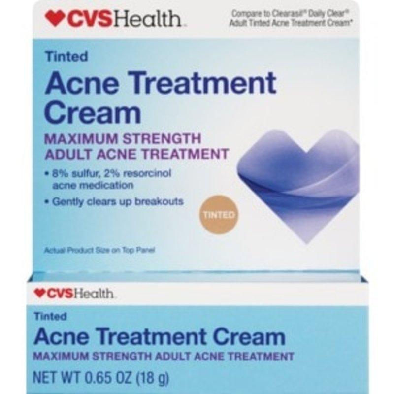 Cvs Maximum Strength Acne Treatment Cream 0 65 Oz Instacart