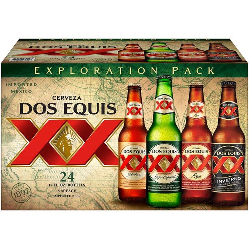Dos Equis Exploration Pack Beer 12 Fl Oz Instacart