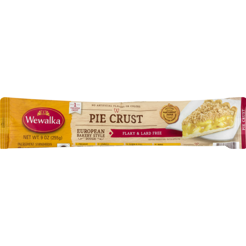 Wewalka European Bakery Style Dough Pie Crust  9 Oz  From