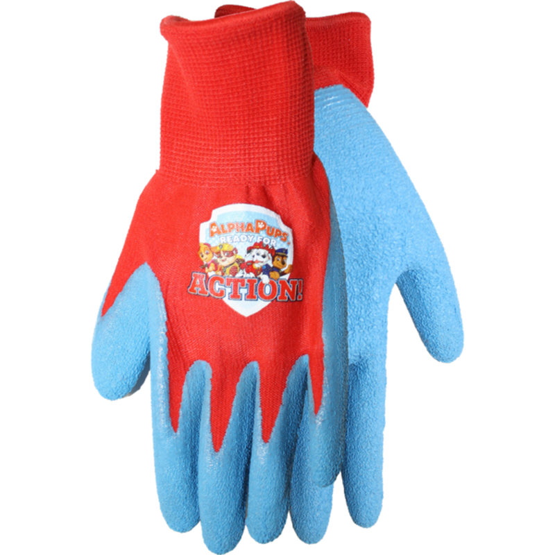 MidWest Quality Gloves, Inc. Red & Blue Paw Gripping Gloves