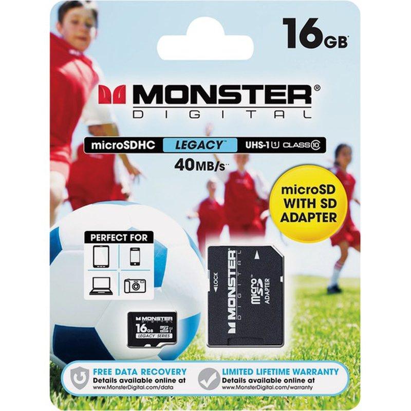 Monster Digital Legacy 16 Gb Micro Sd Card