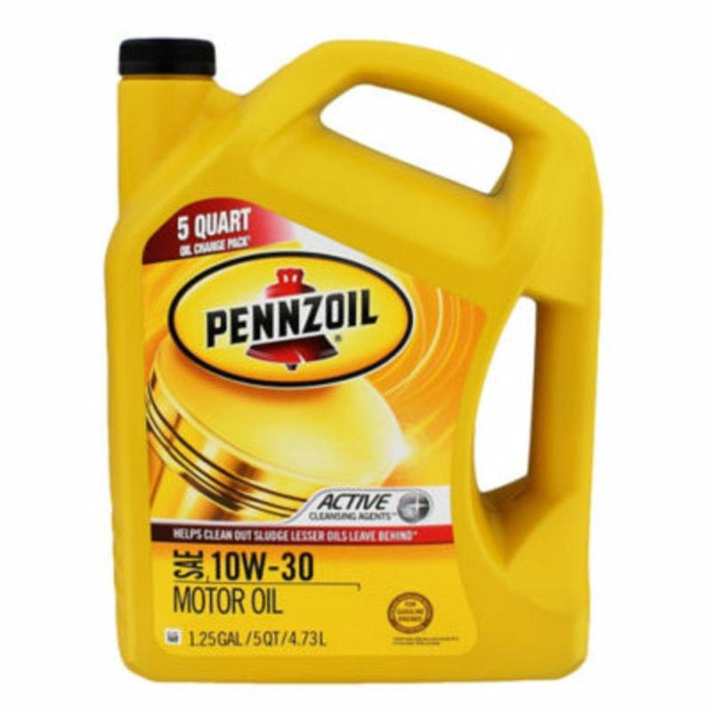 Pennzoil 10 W 30 Motor Oil