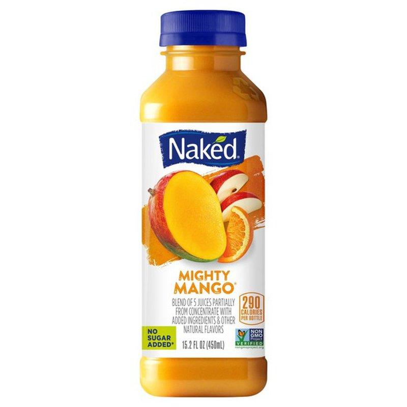 Naked Pure Fruit Mighty Mango Juice Smoothie (10 fl oz