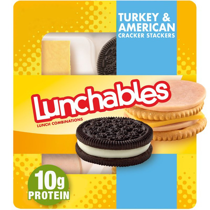 Lunchables Turkey & American with Oreo Cookie Convenience Meal
