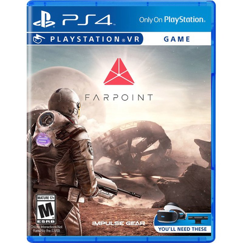 Sony Farpoint Video Game for PlayStation VR