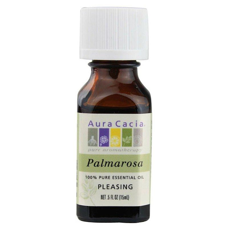 Aura Cacia Palmarosa Pleasing 100% Pure Essential Oil
