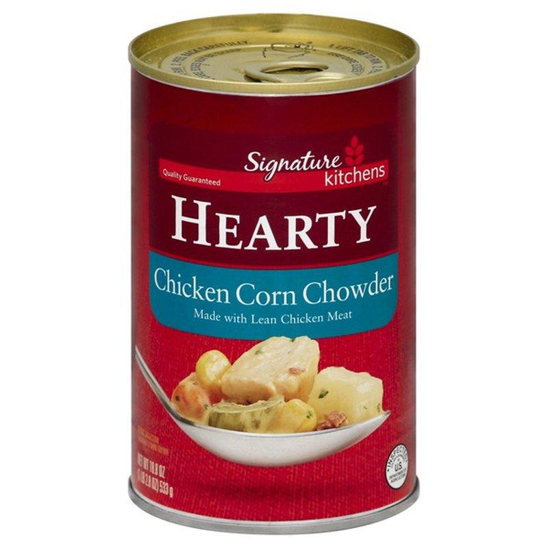 Signature Corn Chowder, Chicken