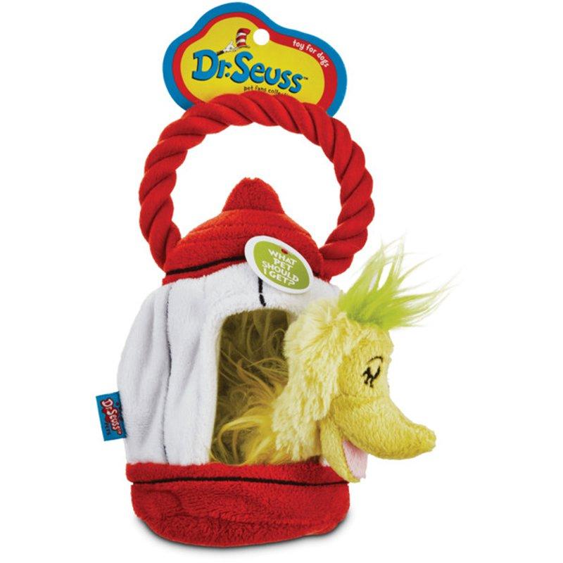 Dr. Suess Dr Seuss Whatpet Birdcage Dog Toy