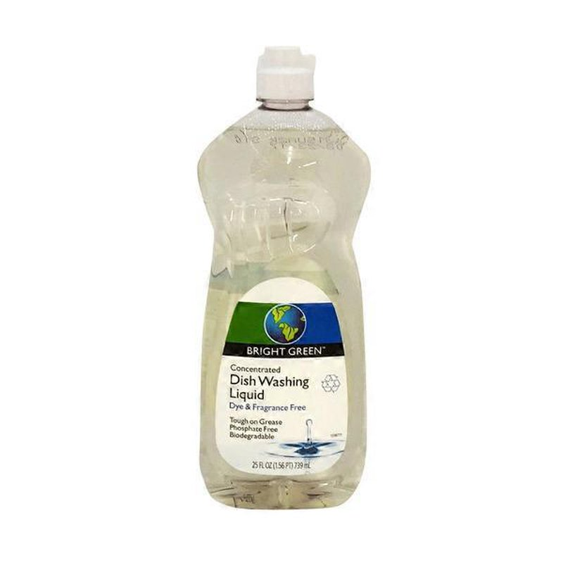 Open Nature Concentrated Dish Washing Liquid Dye Fragrance Free