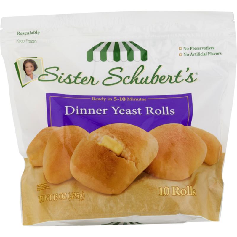 Sister Schubert S Dinner Yeast Rolls 15 Oz Instacart
