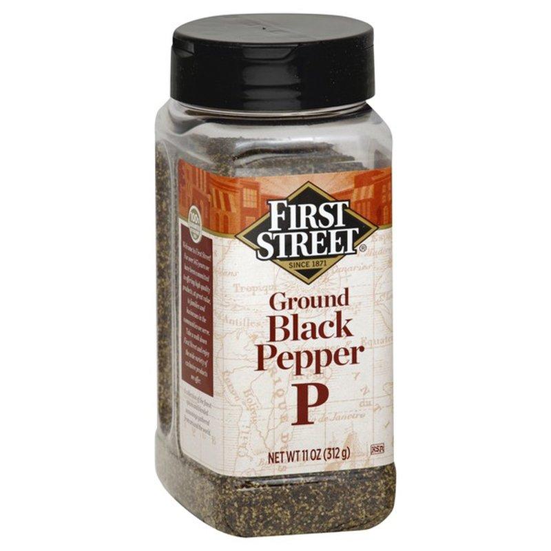First Street Ground Black Pepper