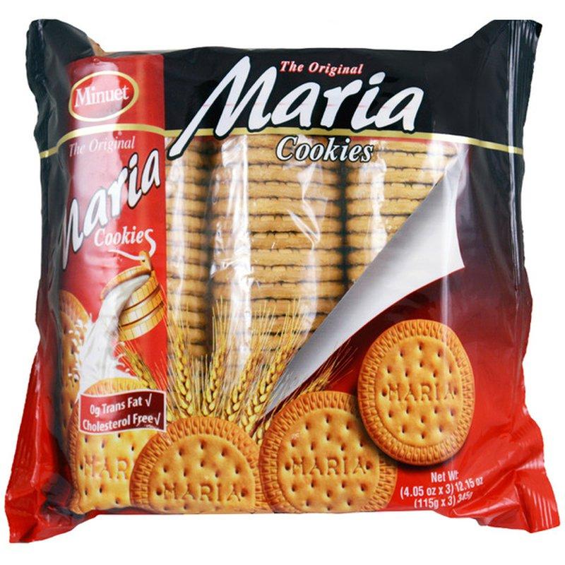 Minuet Maria Cookies