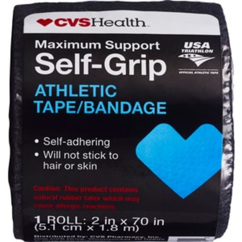 Cvs Health Maximum Support Self Grip Athletic Tape Bandage Roll 1