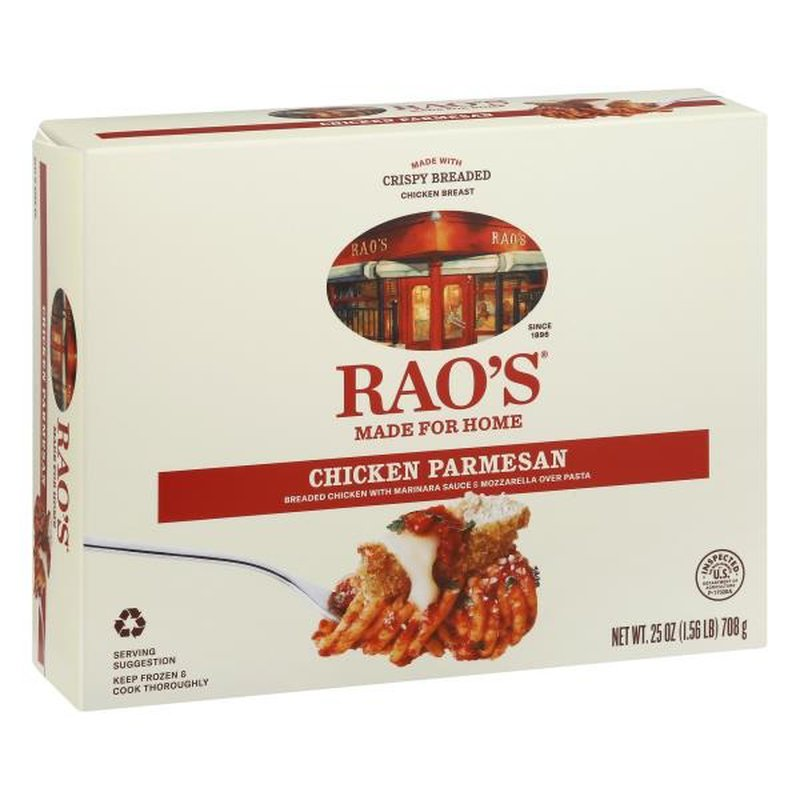 rao's homemade made for home chicken parmesan