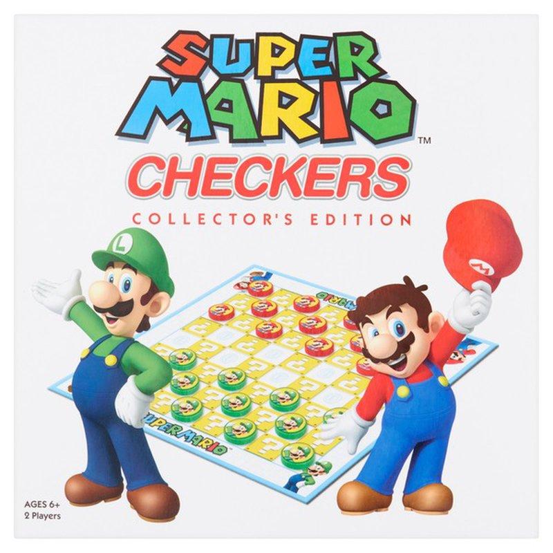 Perrigo Nintendo Super Mario Checkers