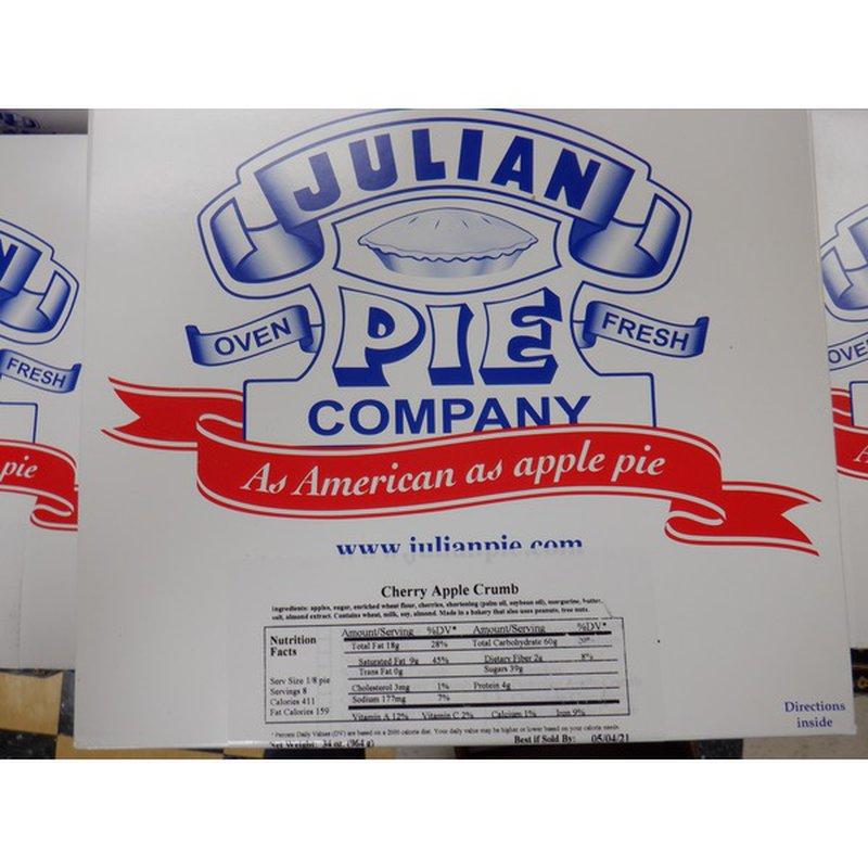 Julian Pie Co. Jul Apple-Cherry Cream Pie