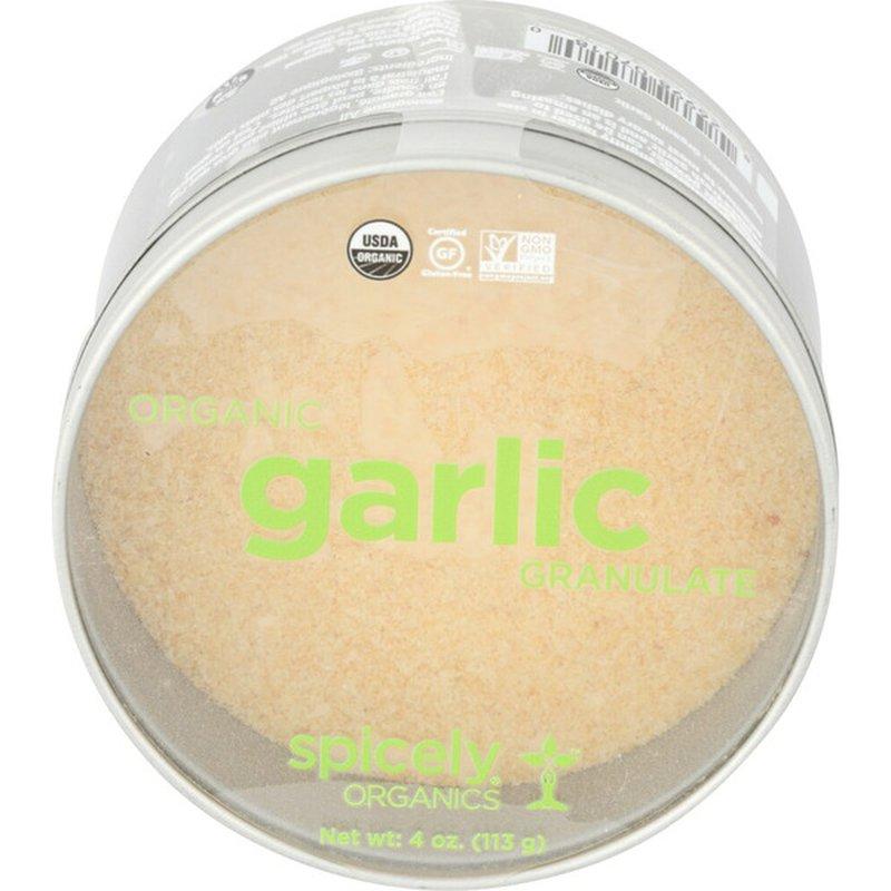 Spicely Organics Organic Garlic Granulate
