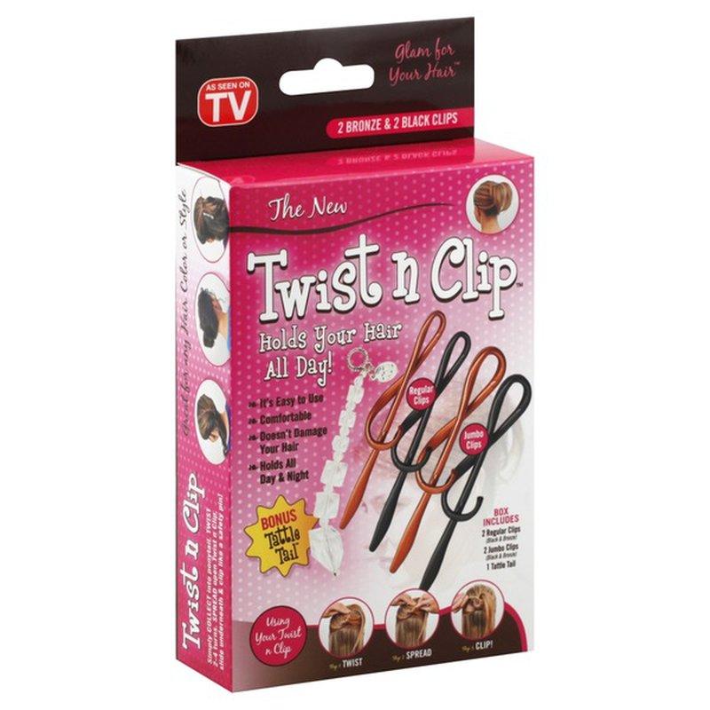 Twist N Clip Hair Clip