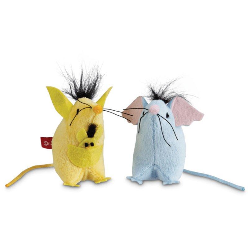 Dr. Seuss Horton and Kangaroo Mice Toys for Cats