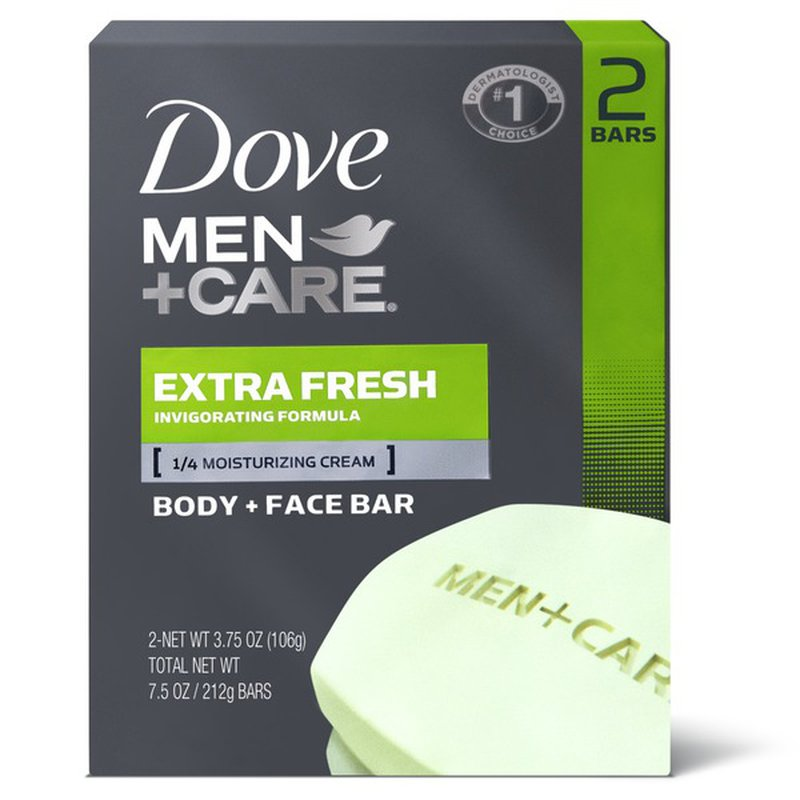 Dove Men Care 3 In 1 Cleanser For Body Face And Shaving Extra Fresh 4 Oz Instacart