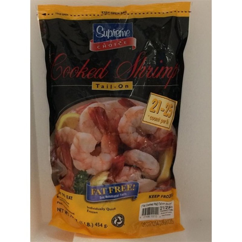Supreme Choice 21-25 Count Cooked Shrimp