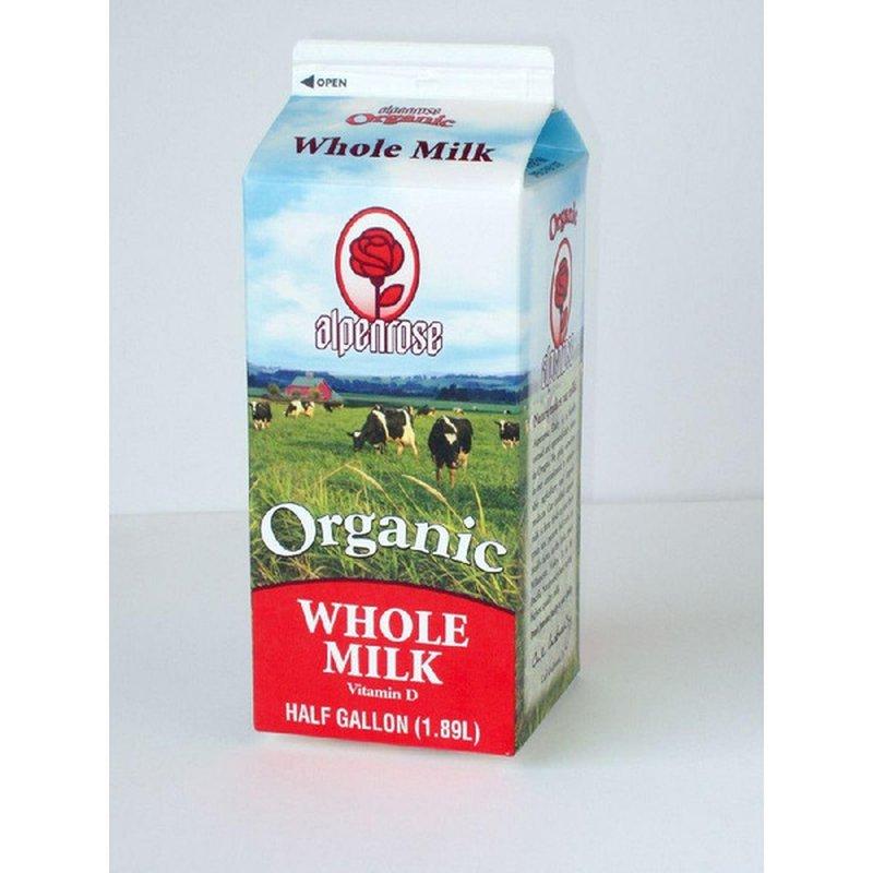 Alpenrose Organic 3.25% Fat Whole Milk