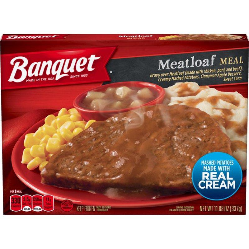 Banquet Classic Meatloaf Meal (11.88 oz) - Instacart