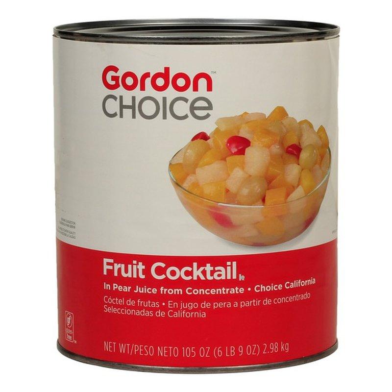 Gordon Choice Fruit Cocktail in Pear Juice