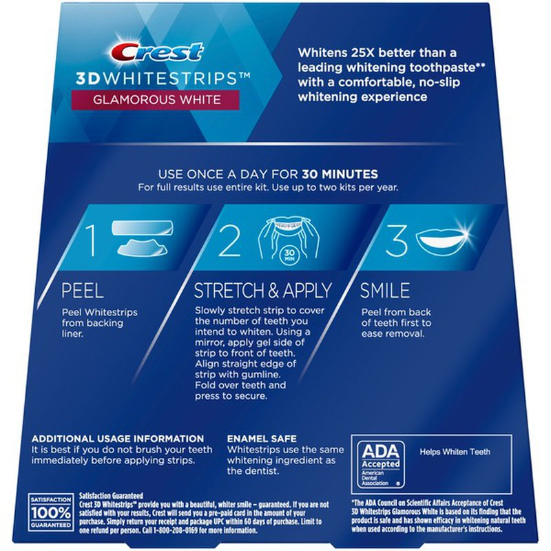 Crest Teeth Whitening Kit Treatments 28 Ct From Target Instacart