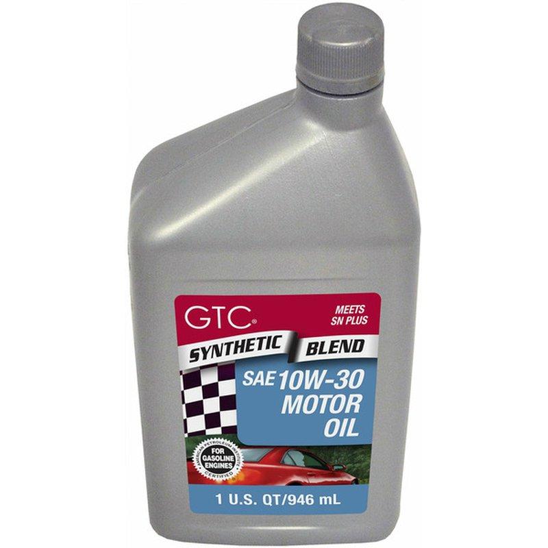 GTC Synthetic Blend 10W-30 Motor Oil