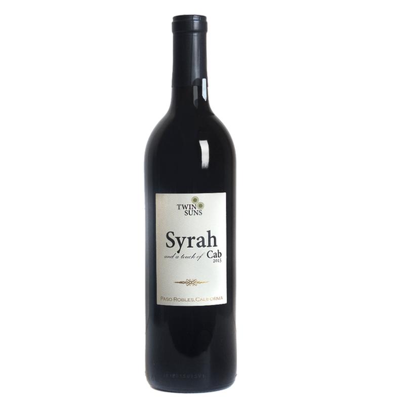 Twin Suns Paso Syrah Wine