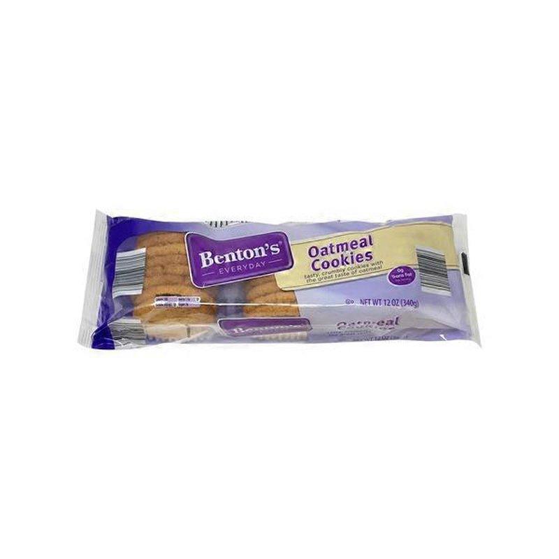 Benton S Oatmeal Cookies 12 Oz Instacart