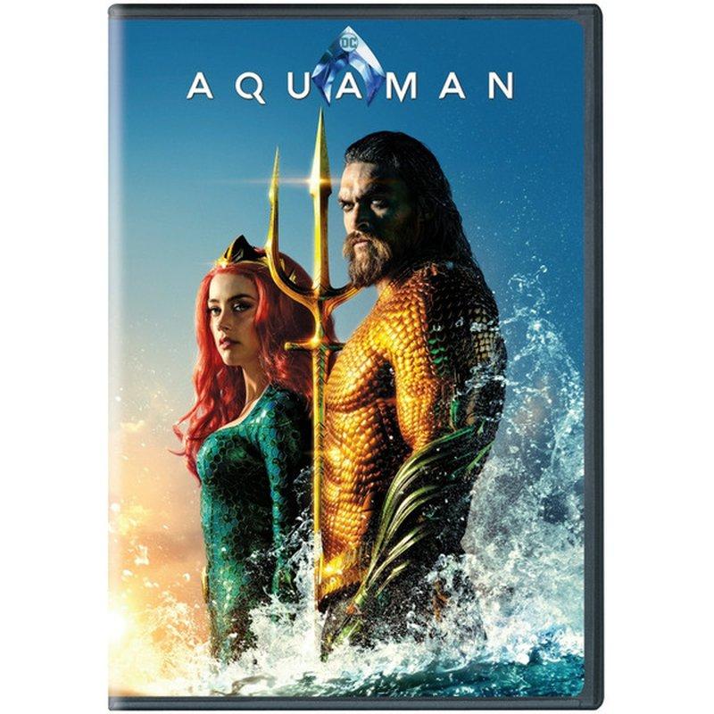 Warner Bros Aquaman DVD