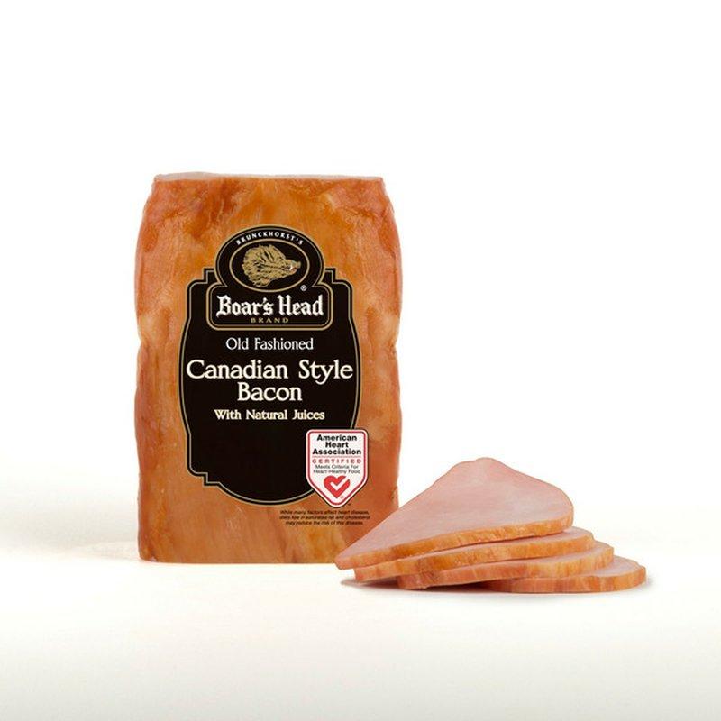 Boar's Head Canadian Bacon