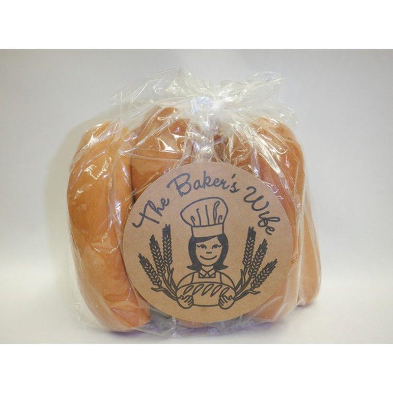 Baker's Wife Hotdog Buns