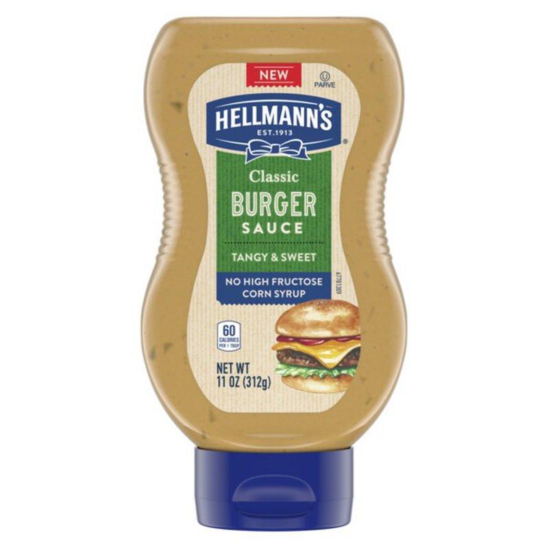 Hellmann's Condiment Classic Burger Sauce