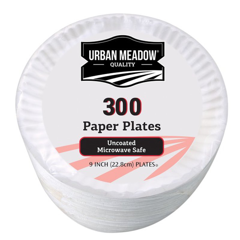 """Urban Meadow 9"""" Uncoated Plates"""