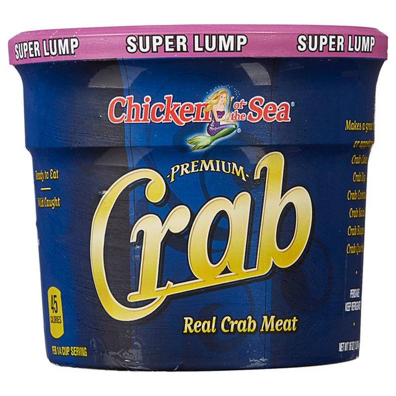 Chicken of the Sea Premium Crab Real Crab Meat Super Lump