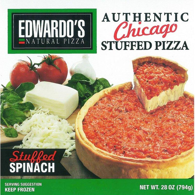 Edwardo's Natural Spinach Pizza