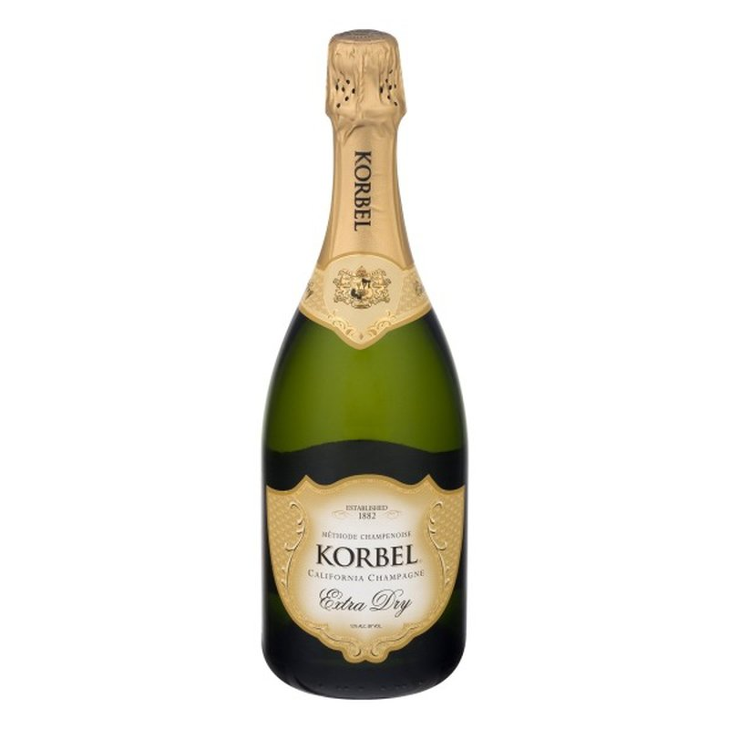 Korbel Extra Dry California Champagne