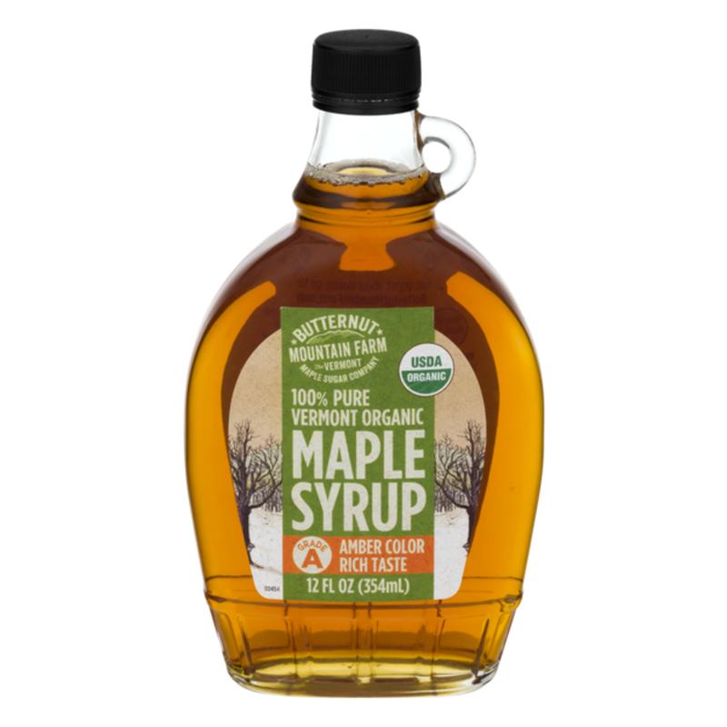 Butternut Mountain Farm Organic 100% Pure Maple Syrup