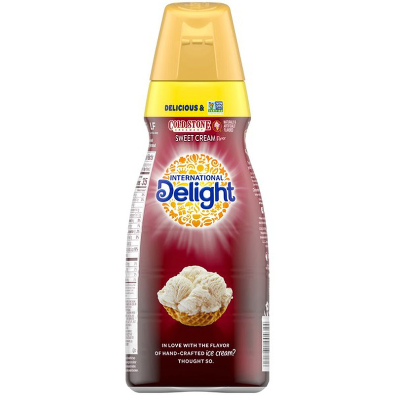 International Delight Cold Stone Creamery Sweet Cream Coffee Creamer (32 fl oz) from El Super ...